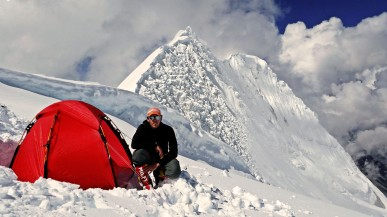 Camp 3 on Manaslu