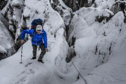 Climbing to C1 (photo: Marcin Kin)
