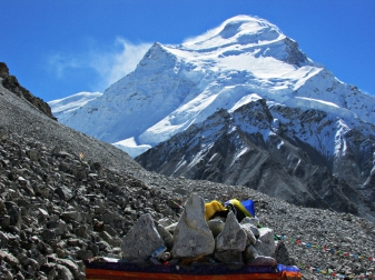 Cho Oyu as seen from ABC