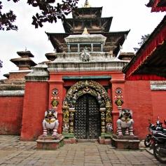 Historical building in Kathmandu