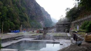 Tatopani hot springs